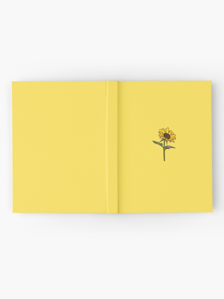 Alternate view of Little Aesthetic Sunflower Hardcover Journal
