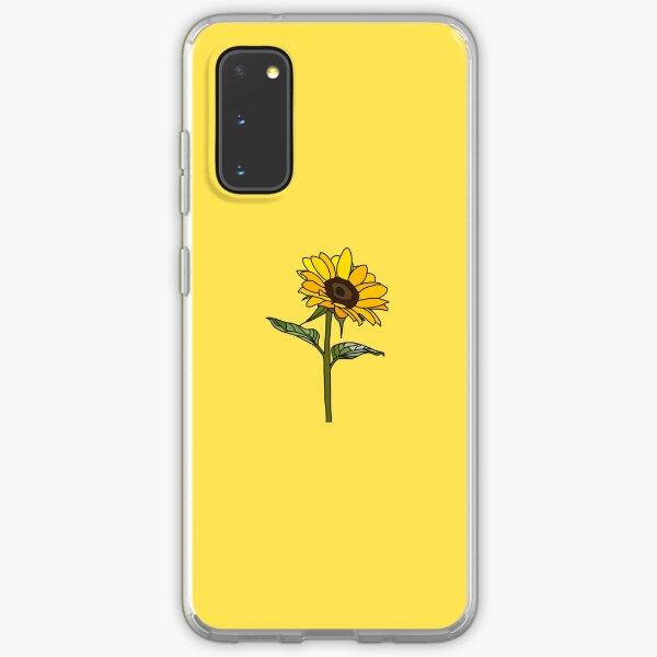 Little Aesthetic Sunflower Samsung Galaxy Soft Case