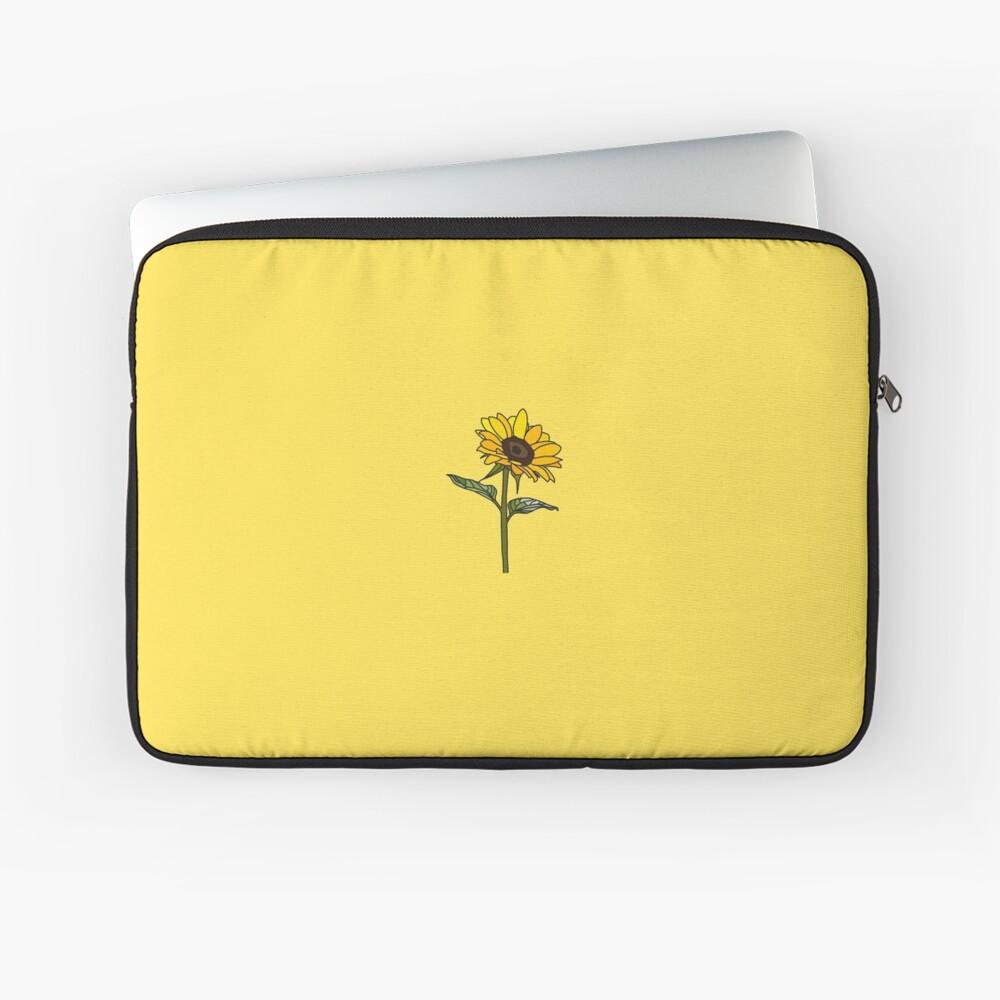 Little Aesthetic Sunflower Laptop Sleeve