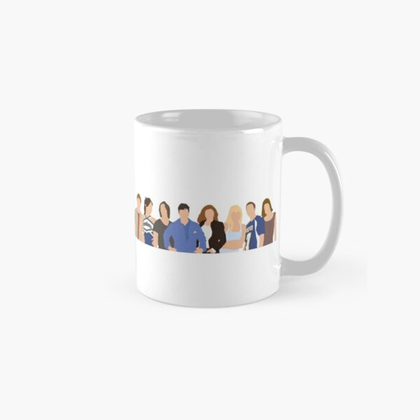 Friday Night Lights Character Silhouette Classic Mug