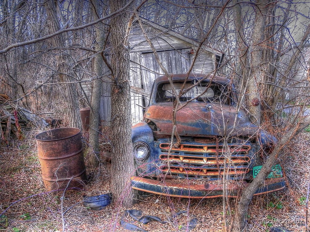 Daddy's Old Truck by wiscbackroadz
