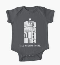 Talk Whovian To Me One Piece - Short Sleeve