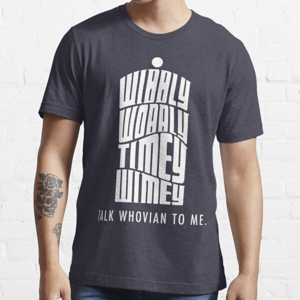 Talk Whovian To Me Essential T-Shirt