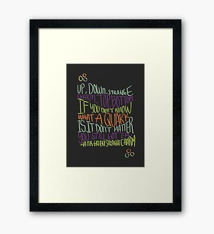 Strange Charm Framed Print