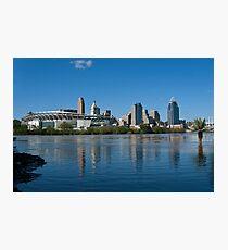 Cincinnati skyline 8 Photographic Print