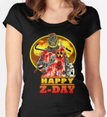 Happy Z-Day Women's Fitted Scoop T-Shirt