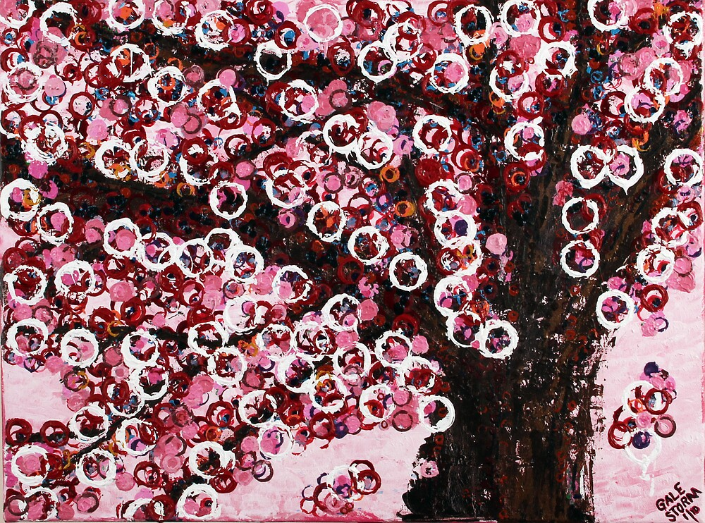 :: Pink Canopy :: by Gale Storm Artworks