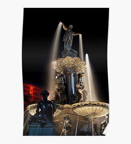 The Fountain Cincinnati Poster