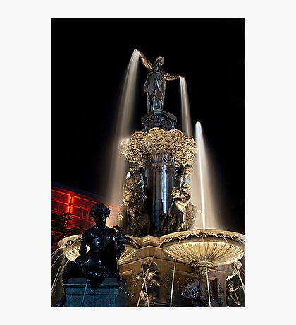 The Fountain Cincinnati Photographic Print