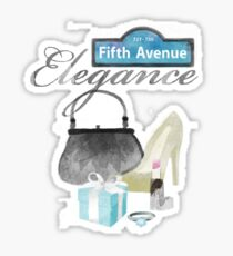 5th Avenue Elegance Sticker