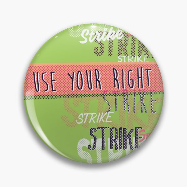 Workers Rights Inch Button