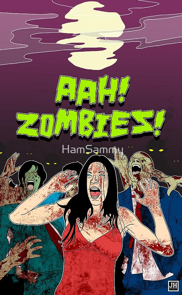 AHH!! Zombies!! by HamSammy