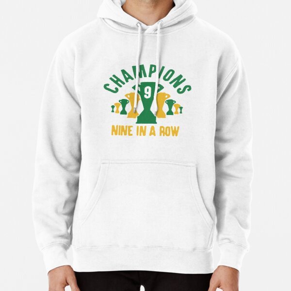 Celtic 9 in a row shirt Pullover Hoodie