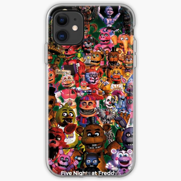 Five Nights At Freddys iPhone Soft Case