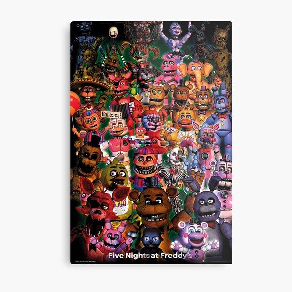 Five Nights At Freddys Metal Print