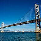 Sailing under the Bay Bridge - San Francisco by Extraordinary Light