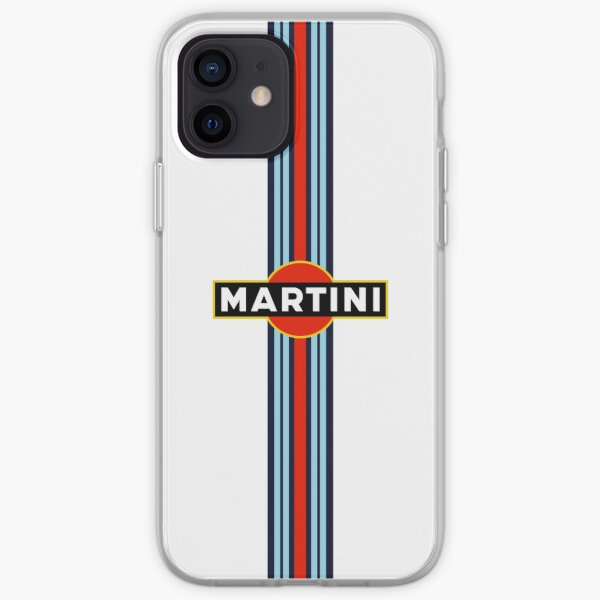 Funda iPhone Martini Racing Funda blanda para iPhone