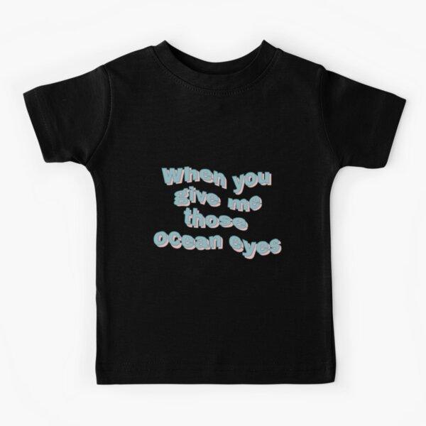 Canciones de Billie Eilish Camiseta para niños