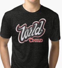 'Wild Child' Lettering T-shirt Tri-blend T-Shirt