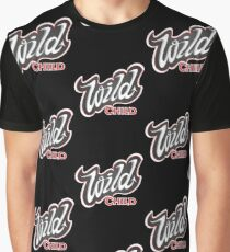 'Wild Child' Lettering T-shirt Graphic T-Shirt