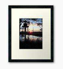 COREY'S LIGHTHOUSE Framed Print