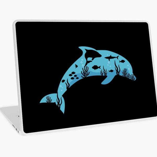 Dolphin Undersea Laptop Skin