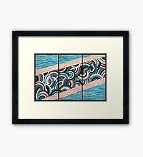 Water & Earth  Framed Print