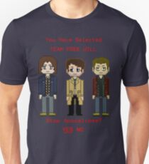 Team Free Will character select T-Shirt