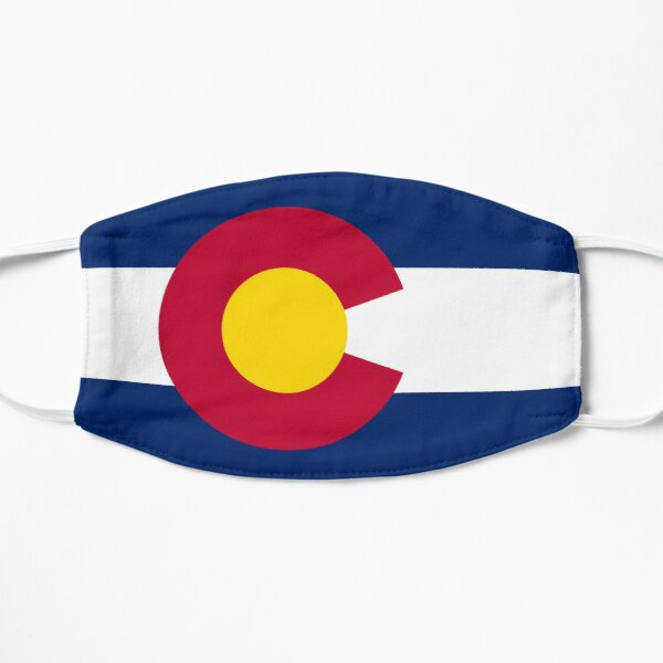 Flag of Colorado Mask
