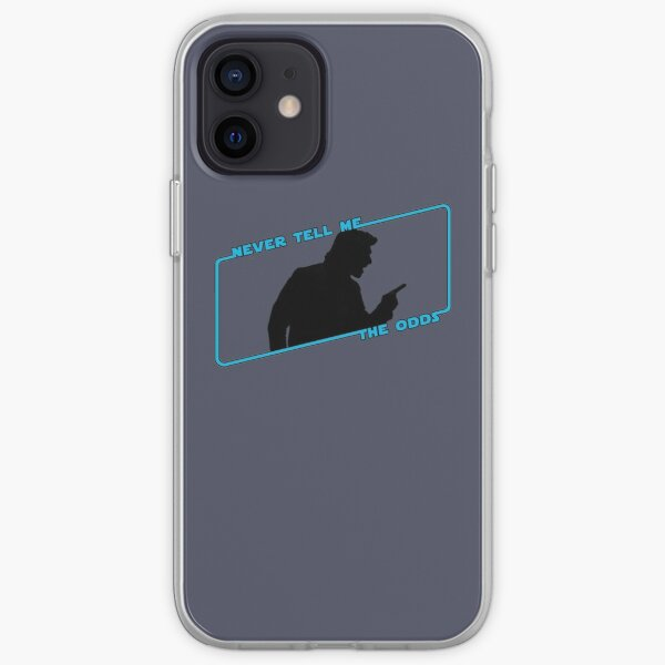 Never Tell Me The Odds (blue)!!! iPhone Soft Case
