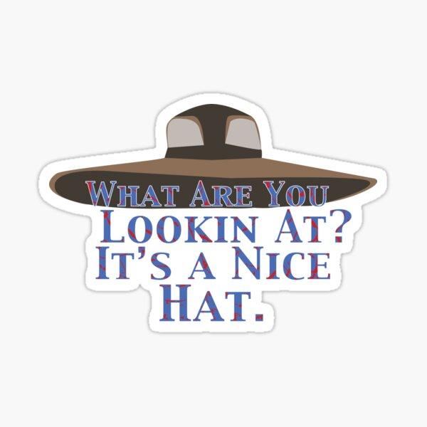Iconic Hat Sticker