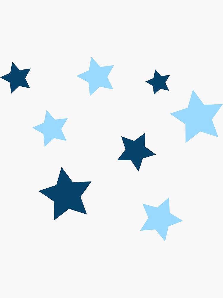 light blue/navy star pack by juliamarotti