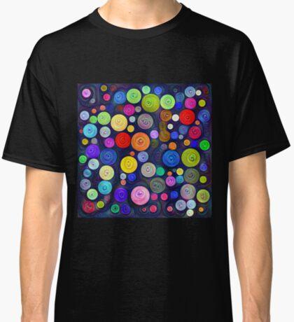 #DeepDream Color Circles Visual Areas 5x5K v1448448724 Classic T-Shirt