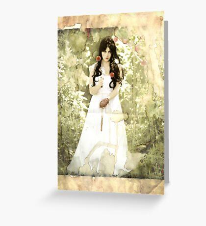 Snow White (modern influence) Greeting Card