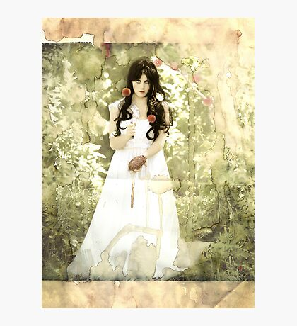 Snow White (modern influence) Photographic Print