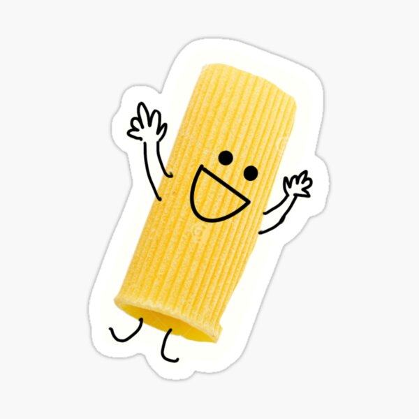Happy Rigatoni Sticker