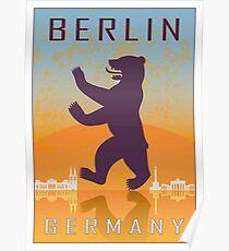 Berliner Vintage Poster Poster