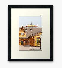 Beer pub Framed Print