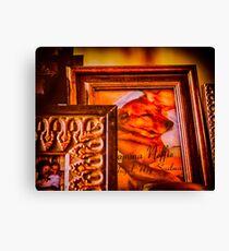 Desktop Icons Canvas Print