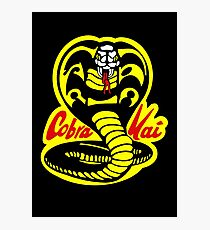 Cobra Kai - The Karate Kid Photographic Print