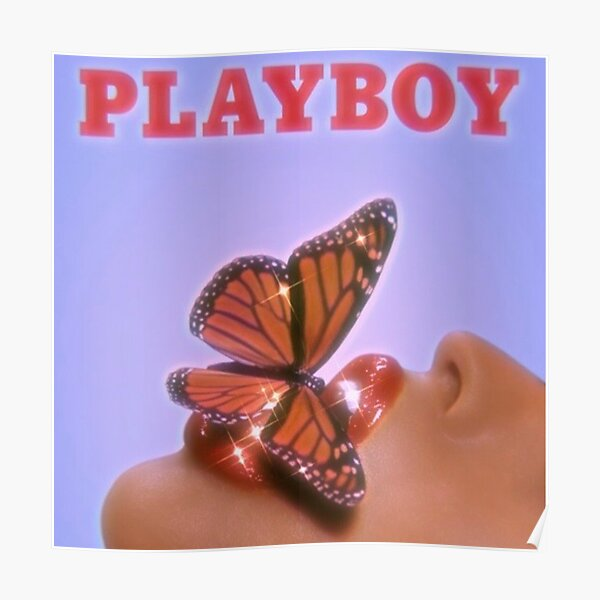 playboy butterfly print  Poster
