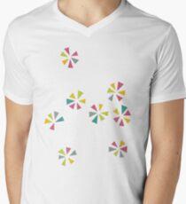Colour Wheels Men's V-Neck T-Shirt