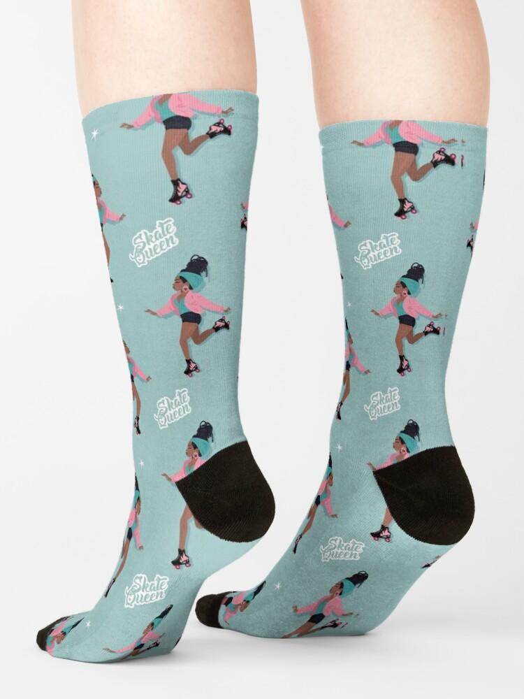 Alternate view of Skate Queen Socks