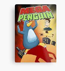 Mega Penguin Metal Print
