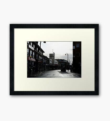 vine street Framed Print