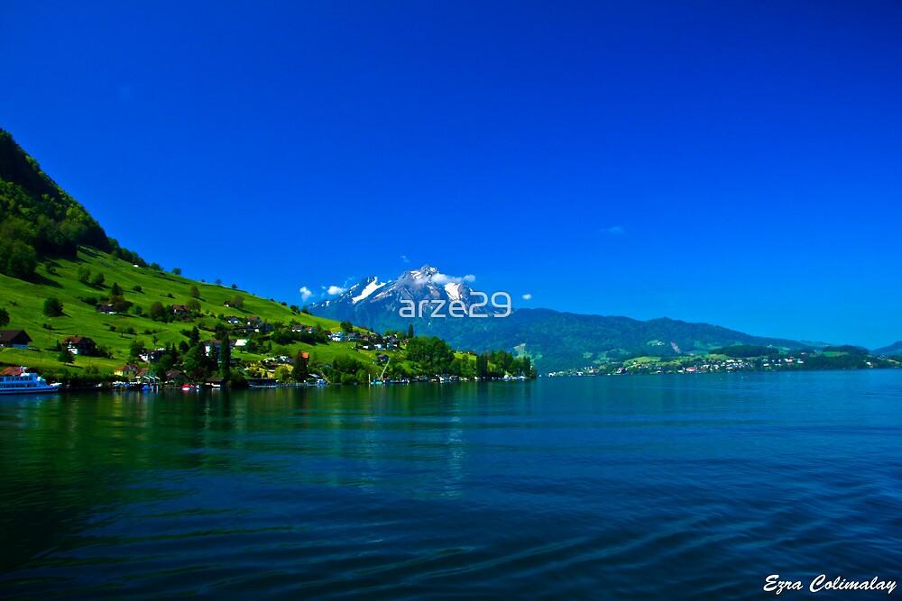Swiss Lake by arze29