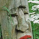 Indian Totem With Lipstick by pjwuebker