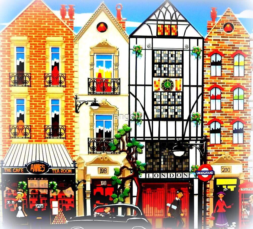 London Tudor Houses by ©The Creative  Minds