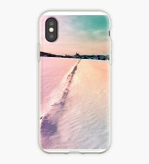 The field and the village iPhone Case