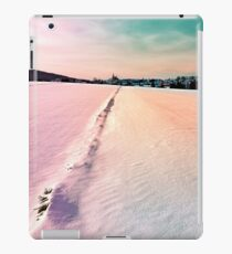 The field and the village iPad Case/Skin